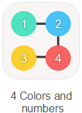 4 Colors and Numbers